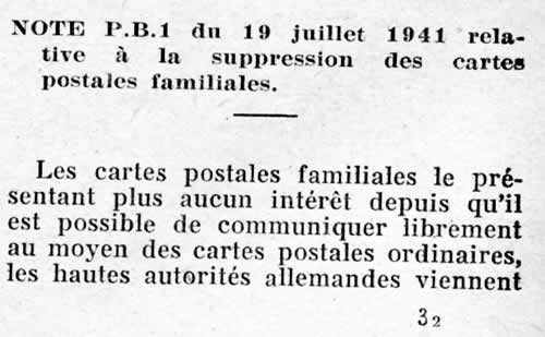 Suppression des cartes interzone