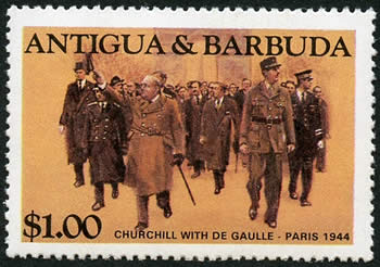 Churchill à paris 11 novembre 1944