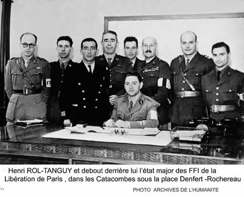 Etat major du colonel Rol-Tanguy