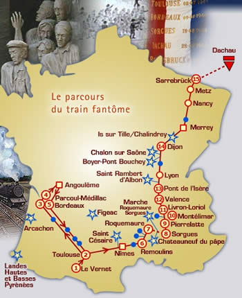 Périple du train fantome