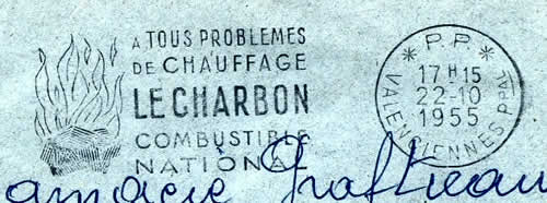 Charbon Combustible National PP Valnciennes