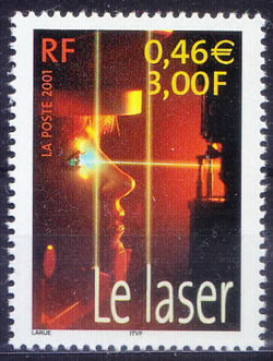 Laser invention du millenium