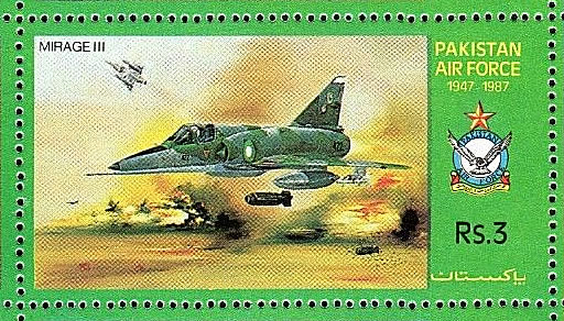 Mirage II des forces pakistanaises