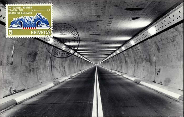Tunnel du Gd Saint-Bernard