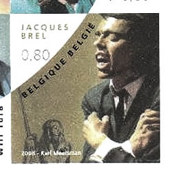 Timbre Jacques Brel extrait BF