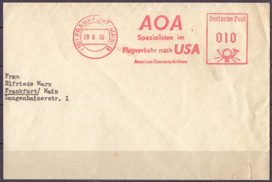 EMA American Overseas Airlines
