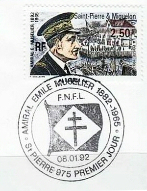 Amiral Muselier FDC