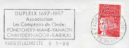 Les comptoirs en inde 1950 1954 - Comptoirs francais en inde ...