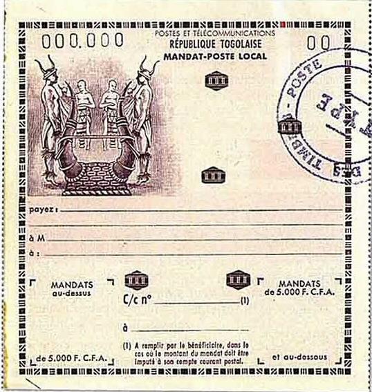 Cameroun et togo 1960 61 for Ministre interieur 1960