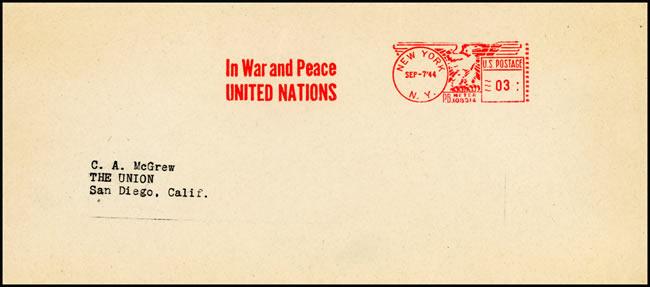 EMA In WAR and Peace United Nations