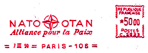 EMA OTAN PARIS 1959