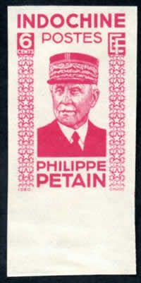 Pétain 6cts ND