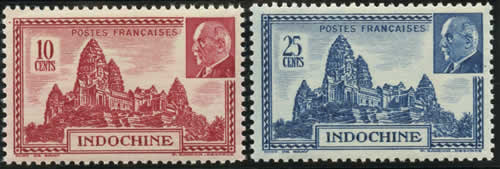 Timbres Pétain au profit du Secours National