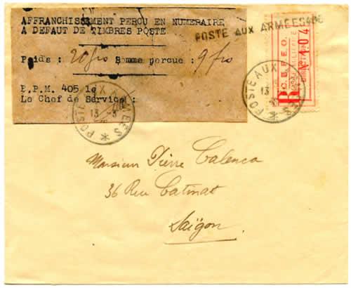 Mars 1946 histoire postale et timbres surcharg s de l for La poste changement d adresse provisoire
