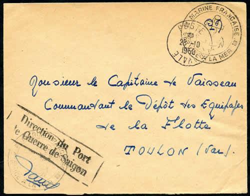 La poste navale en indochine 1945 1955 - Baie du japon en 3 lettres ...