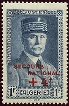Pétain + 4F secours National